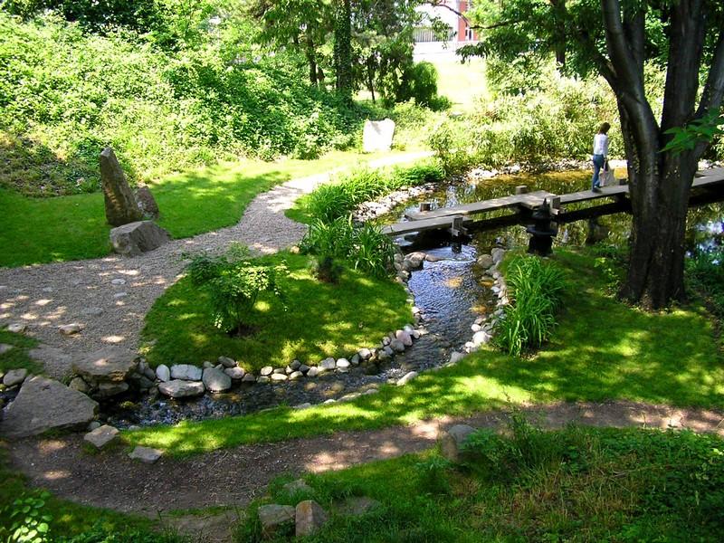 Japanese Garden Botanical Garden Jevremovac Ambience