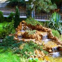 fontana u dvoristu vinci