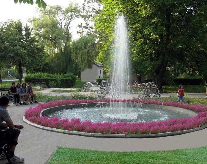 Fontana u parku, Golubinci  Naturalist